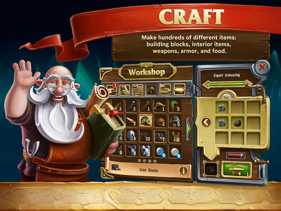 Craft The World - Pocket Edition Screenshots