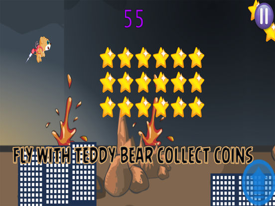 Flying Teddy Bear Game screenshot 5