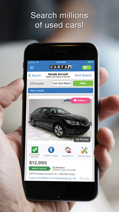 how to get a carfax report on a used car