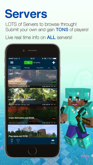 Screenshots of Minecraft Seeds Pro for iPhone