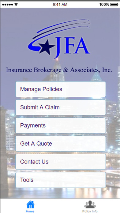 JFA Insurance Brokers screenshot 1