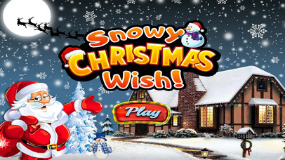 Snowy Christmas Wish - Hidden Object screenshot 1