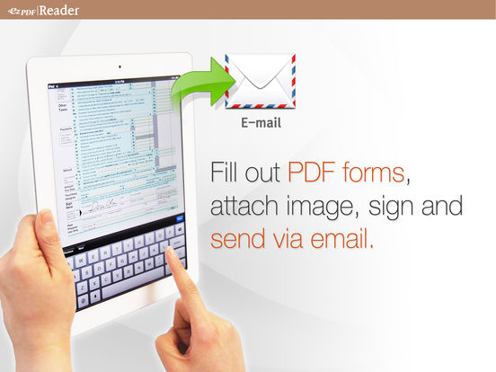ezPDF Reader: Interactive PDF Reader for iPad Screenshots