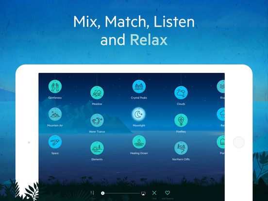 Relax Meditation P: Mindfulness Sounds White Noise Screenshots