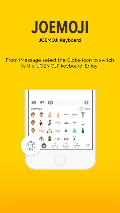 JOEMOJI Keyboard screenshot 3