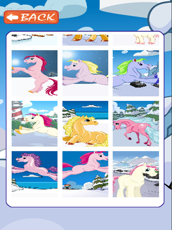 Kids Jigsaw Puzzles Games Pony Version screenshot 6