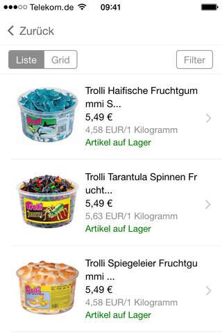 Candyhouse.de screenshot 3
