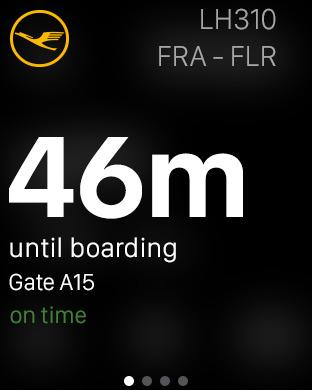 Lufthansa iPhone Screenshot 7