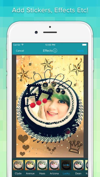App Shopper: Photo On Happy Birthday Cake With Name ...