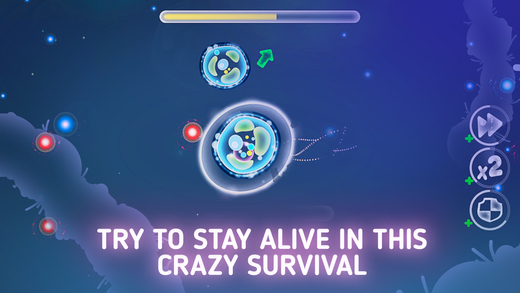 Micro World Evolution - Bacteria Attack PRO Screenshots