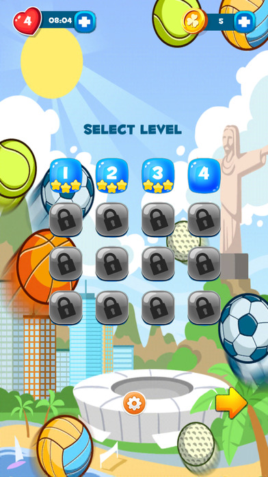 Bubble Olympics Screenshot