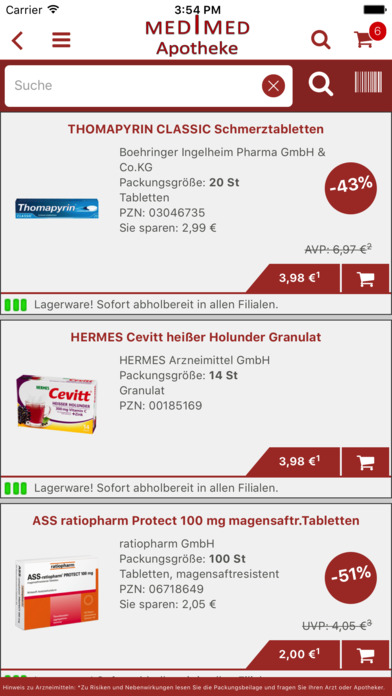 Medimed Apotheke screenshot 4