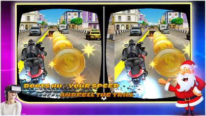 VR-Top Speed Bike Racer-2017 Pro screenshot 5