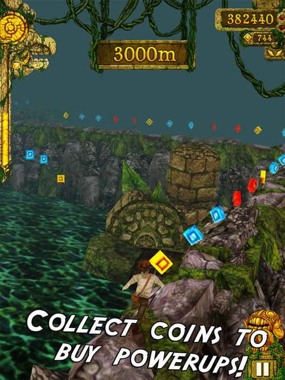 Screenshots of Temple Run for iPad