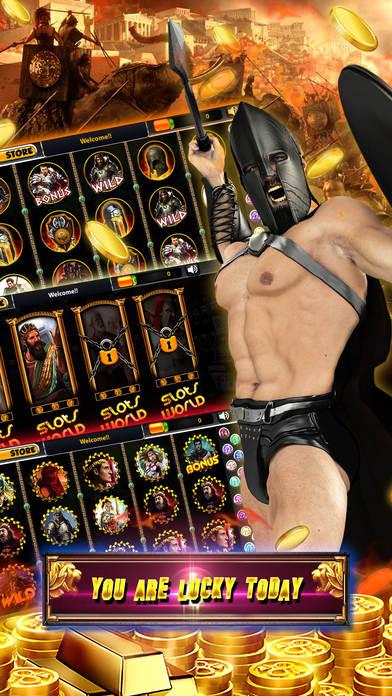 Screenshot 2 Римские игровые автоматы: Бесплатное казино
