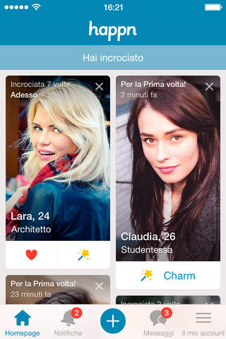 happn — Dating app screenshot 1