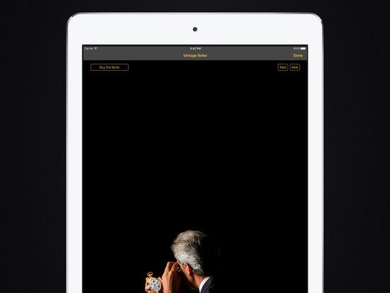 Vintage Rolex HD iPad Screenshot 4