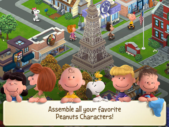 Peanuts: Snoopy's Town Tale Screenshots