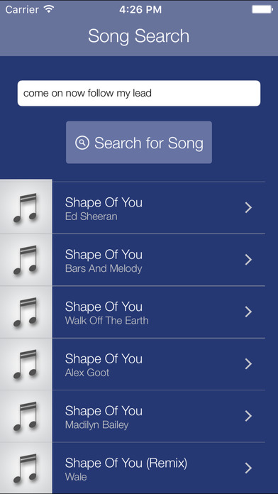 Premium Search for Pandora screenshot 1