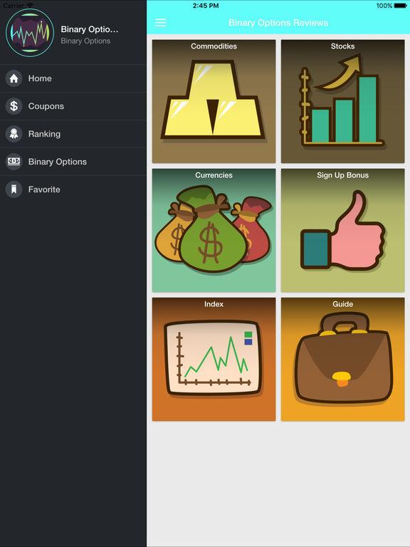 Binary options trading app reviews