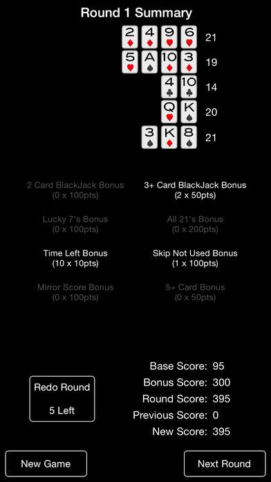 BlackJack Run iPhone Screenshot 4