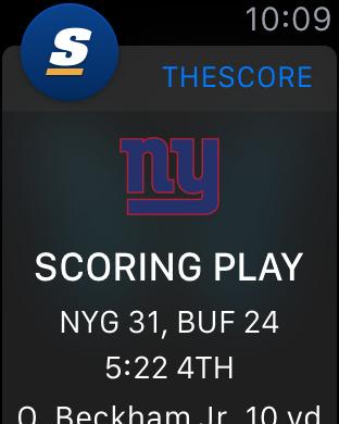 ScoreMobile iPhone Edition iPhone Screenshot 7