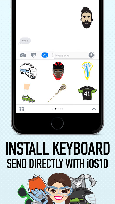 LACROSSEMOJI screenshot 2