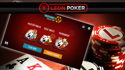 Screenshot 1 Leon Poker