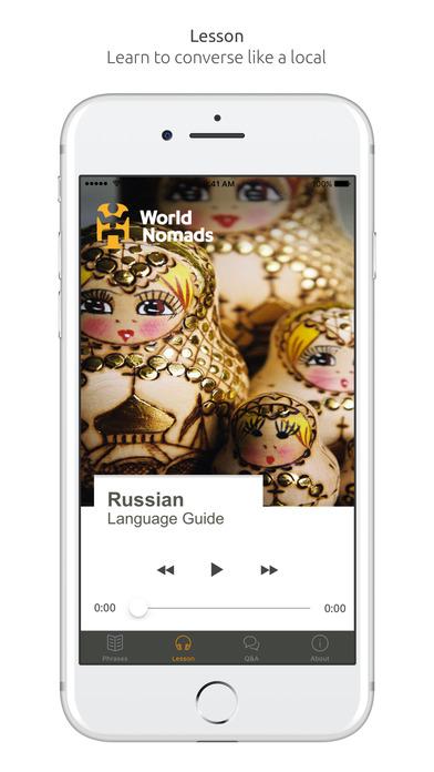 World Nomads Russian Language Guide iPhone Screenshot 3