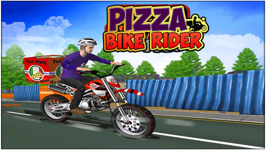 Pizza Bike Rider :Pizza Delivery Bike Rider 4 Kids Screenshots