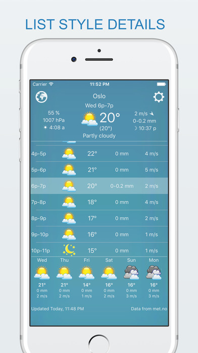 widget weather - offline forecast, your own style Screenshots