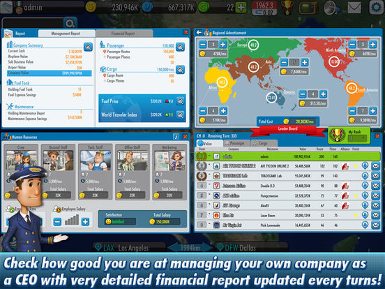 Screenshot #5 for AirTycoon Online 2