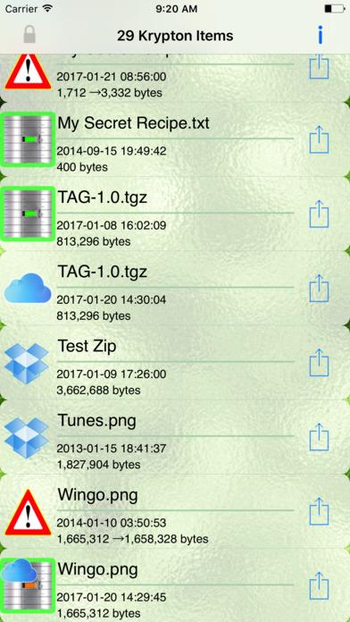Krypton iPhone Screenshot 5