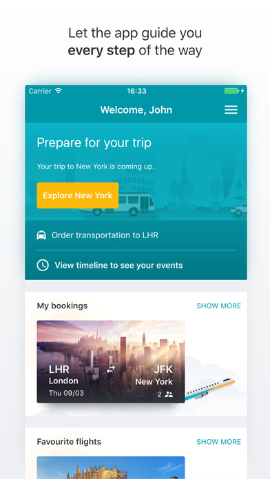 Kiwi.com Flights Screenshot