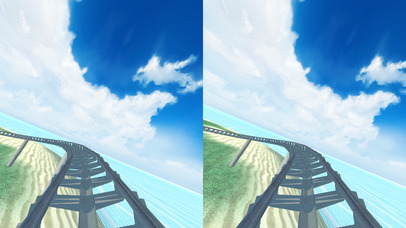 VR Roller Coaster Virtual Reality screenshot