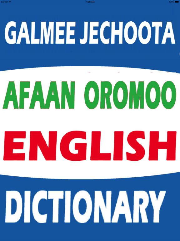 english oromo amharic dictionary pdf