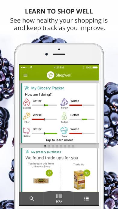 ShopWell iPhone Screenshot 2