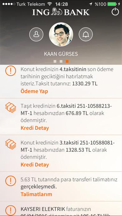 ING Mobil iPhone Screenshot 3