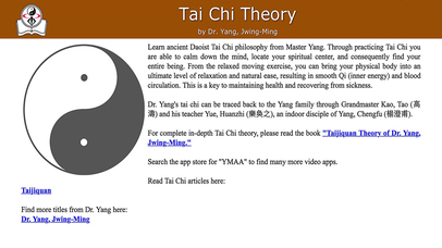 Screenshot for Tai Chi Theory in Peru App Store
