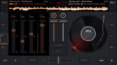 edjing 5:可混音和录制音乐的DJ唱盘