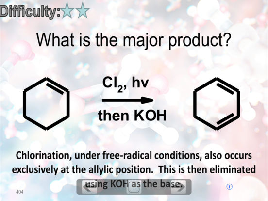 Organic Chemistry FlashCards iPad Screenshot 2