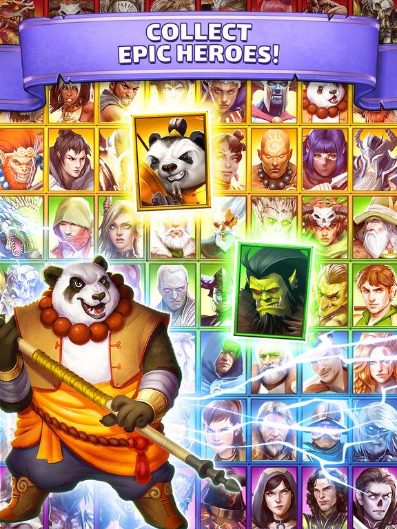 Empires & Puzzles: RPG Questscreeshot 2