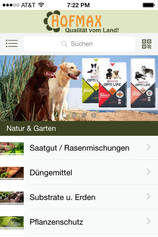 Hofmax.de - Mobile App screenshot 1