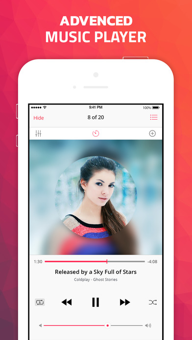 Soundee - Free Mp3 Music Player for SoundCloud Apps free for iPhone/iPad screenshot