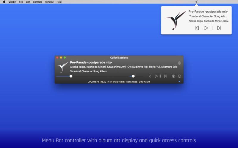 Colibri for Mac 1.8.8 破解版 – 优秀的无损音乐播放器-麦氪派
