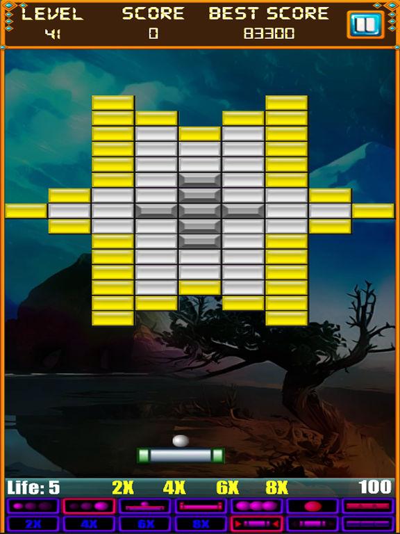 Скачать игру Brick Breaker: Super Breakout Retro