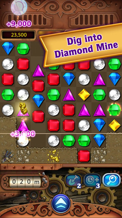 Screenshots of Bejeweled Classic for iPhone