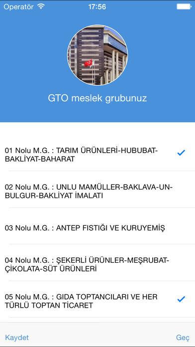 Screenshot for GTO (Gaziantep Ticaret Odası) in United States App Store