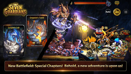 Seven Guardians Screenshot