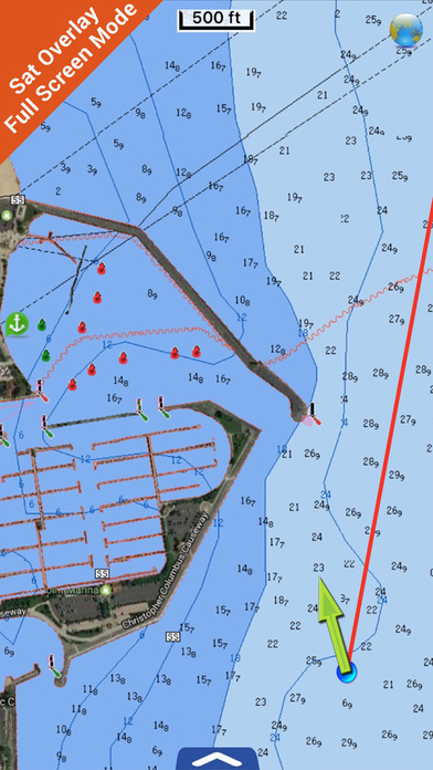 Michigan HD - Water Map Navigator iPhone Screenshot 3